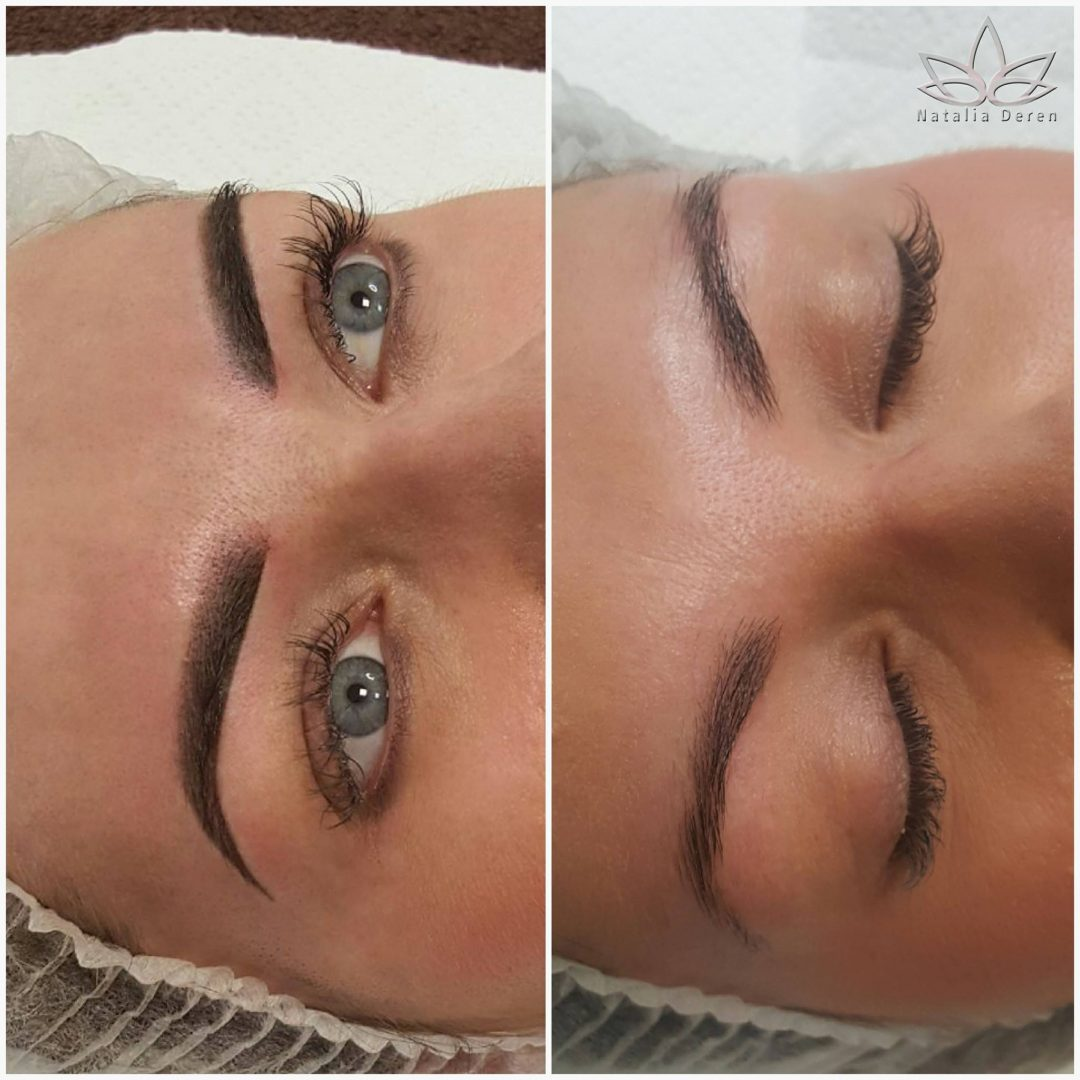 Makijaż permanentny Ombre
